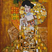 Portrait of adele bloch bauer i by gustav klimt osa203 1